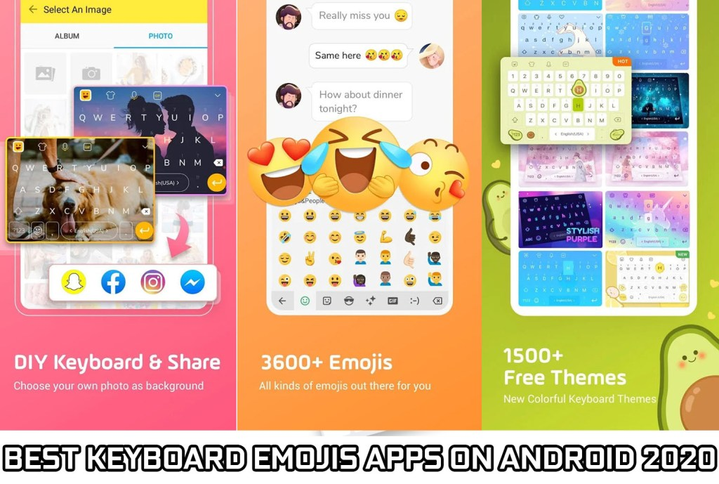 7 Best Emoji Keyboard For Android 2020 Roonby