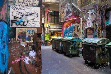 Melbourne Graffiti walls: Centre Way