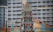 Hindu Temple, Chinatown, Singapore