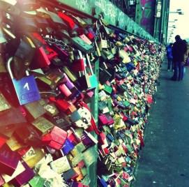 Love Locks in Koln: Cologne, Germany