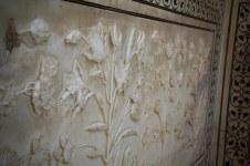 Marble carvings at Taj Mahal