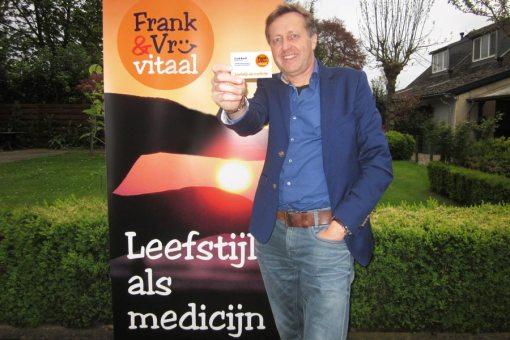Logo, banner Frank&vrij