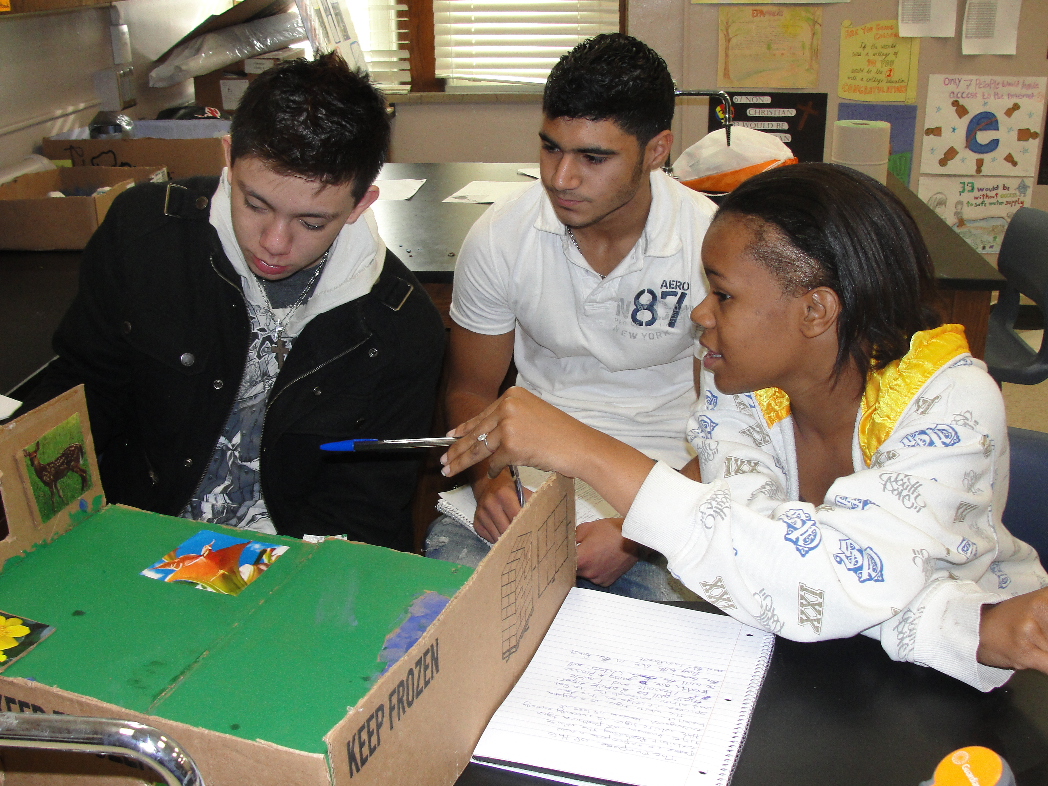 Science Students Create Endangered Species Project