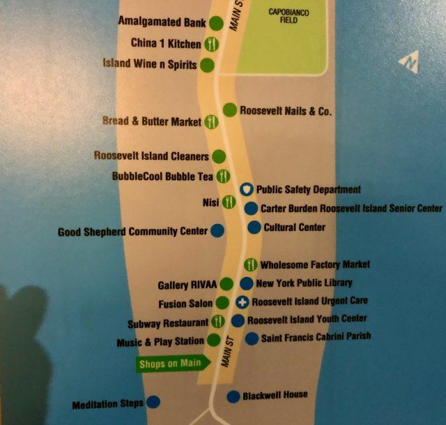 Roosevelt Island Wayfinding Signs