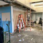 RIOC COVID Testing Site, Under Construction