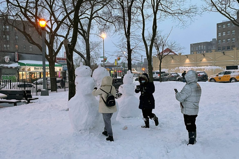 PHOTOS: NYC Nor'easter Brings Snow Globe Scenes