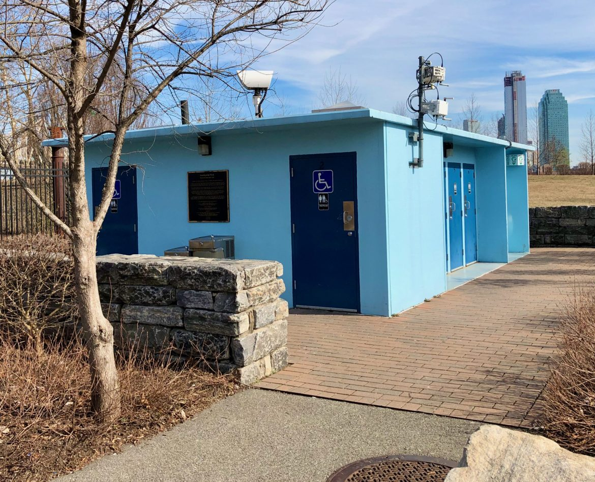 Another mysterious RIOC closing. This time, it's that rarity, public restrooms…
