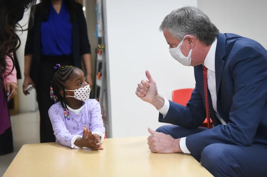 De Blasio's Learning Bridges program is under enrolled — and likely over budget