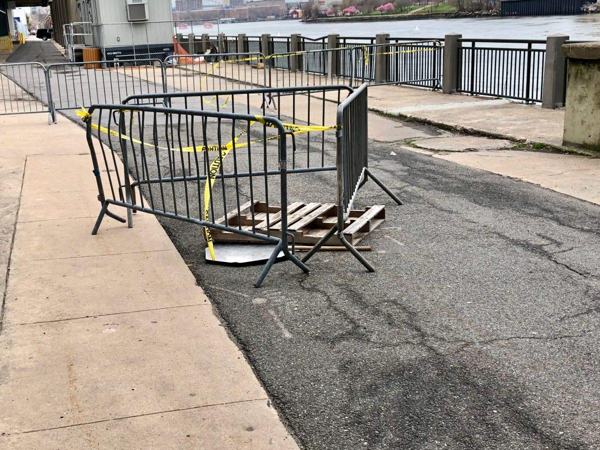 Roosevelt Island East Promenade Sinkhole, 2nd Week