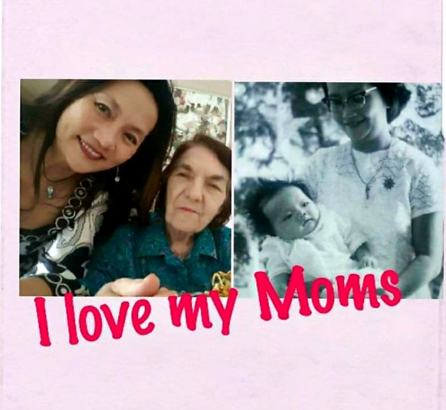 I love my moms-Esther Yang