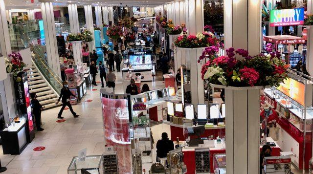Macy's Flower Show 2021, Floral Sky