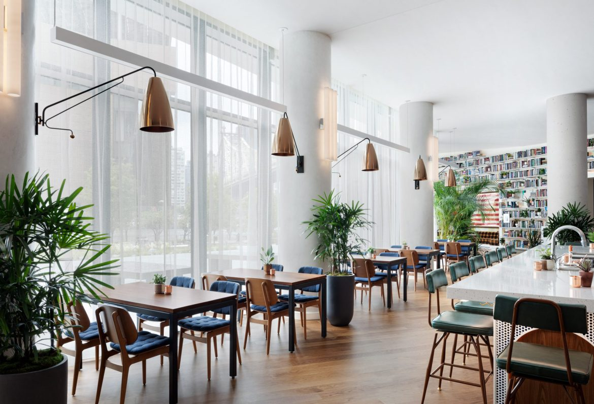 """""""Anything At All,"""" a New Restaurant in the Roosevelt Island Graduate Hotel Opens"""