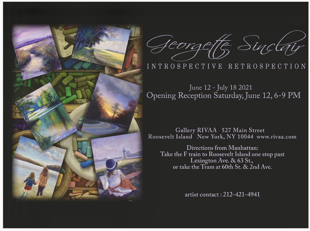 Coming Up: Introspective Retrospection, Georgette Sinclair at Gallery RIVAA