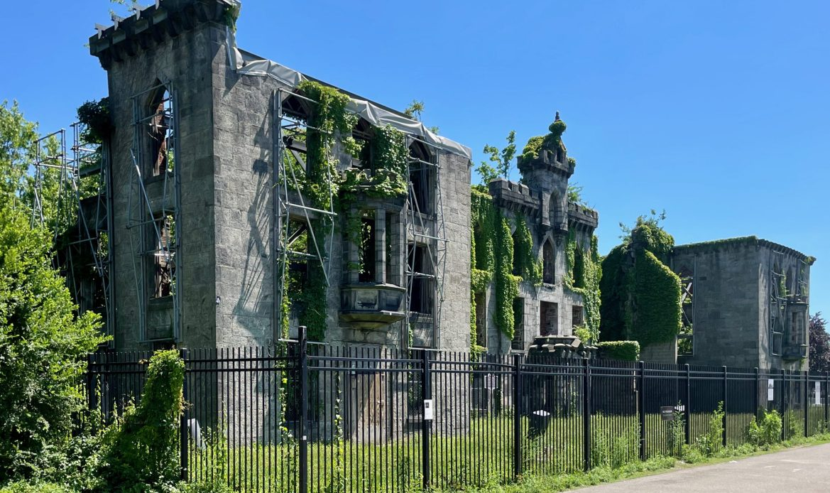 The Art of the Smallpox Hospital, Renwick's Historic Gem, in Spring