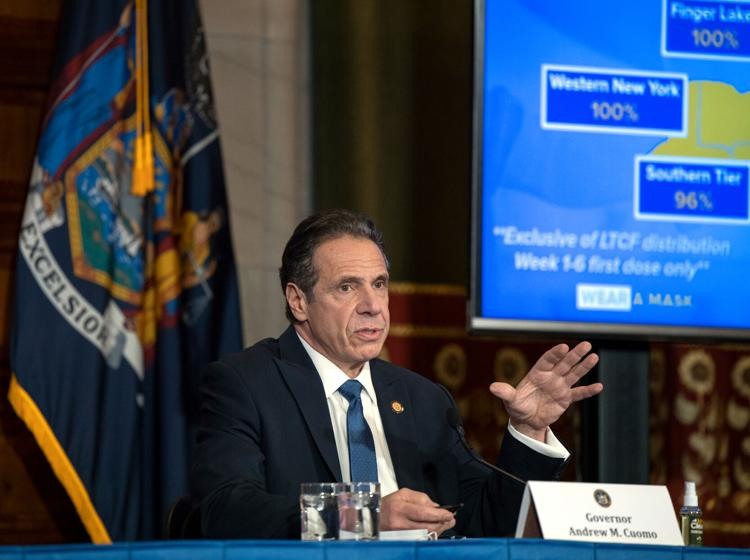 Cuomo to sit for deposition on harassment allegations, according to reports