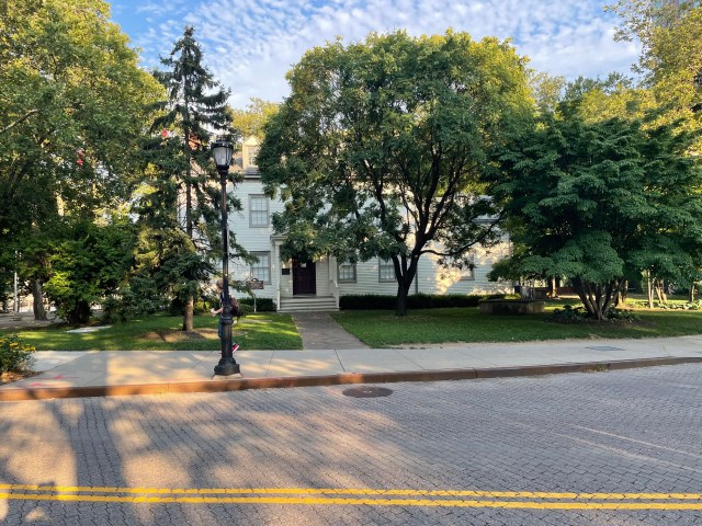 Blackwell House on a summer morning.