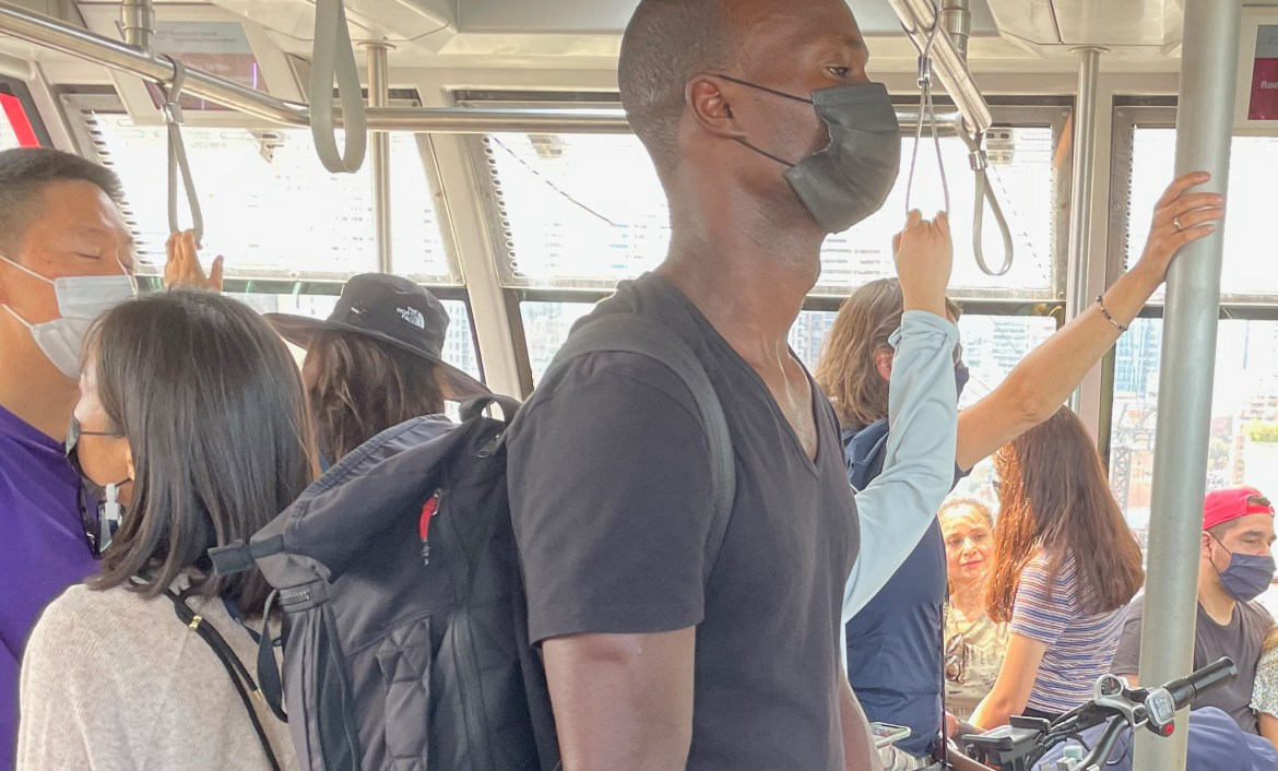 Maskless Tram Riders Raise Concern Now That Red Buses Are Better
