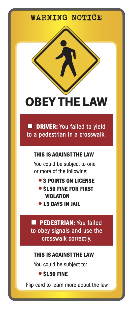 Safety at Crosswalks: What are the rules for New York State?