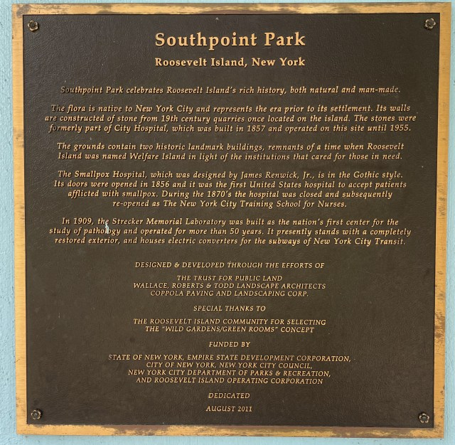 Southpoint Park on its opening day.