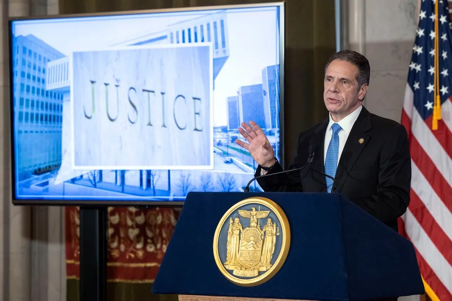 Cuomo's Lawyers Portray Him as the Victim While Accuser Says He Committed a 'Crime'