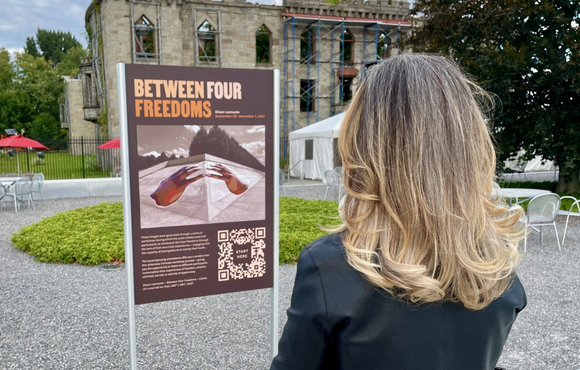 Between Four Freedoms, Breakthrough Art, Opens in the Park