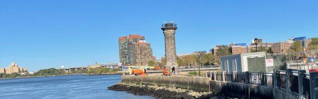 Roosevelt Island Headless Lighthouse
