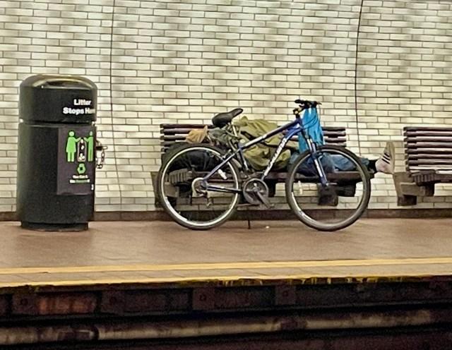 Roosevelt Island Subway Station, Saturday, June 19, 2021