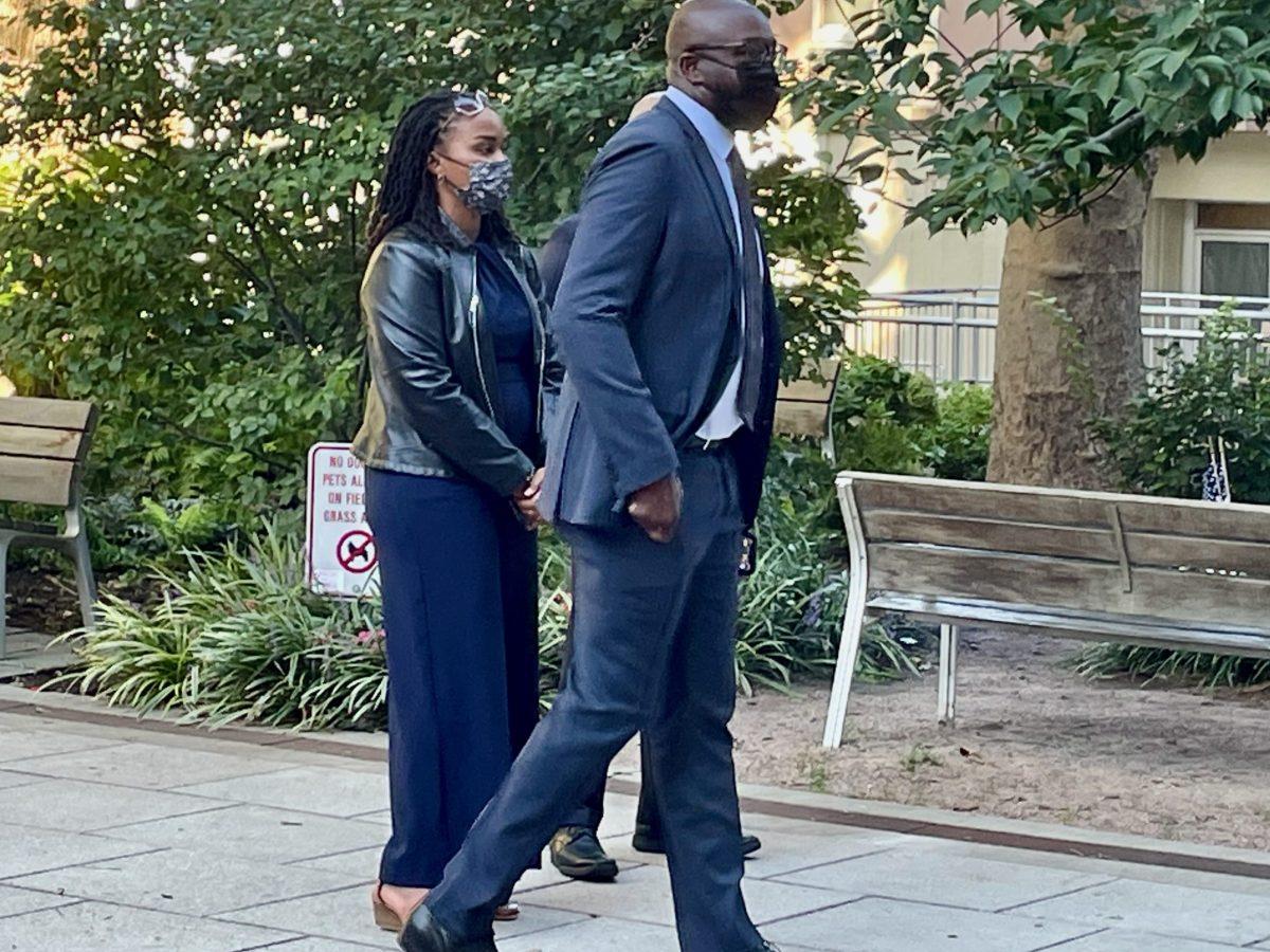 Shelton Haynes with Erica Spencer-EL, September 11th, 2021