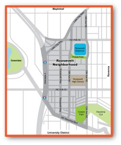 Roosevelt Neighborhood Map