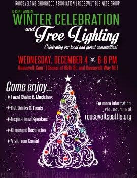 Winter Celebration and Tree Lighting