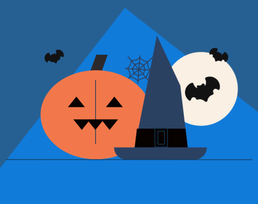 Halloween email banner