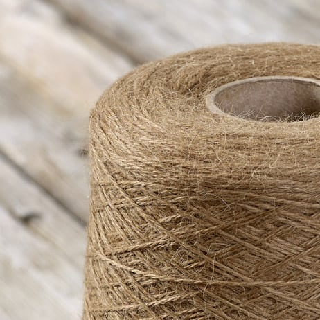 C104 Biscuit coloured cone yarn