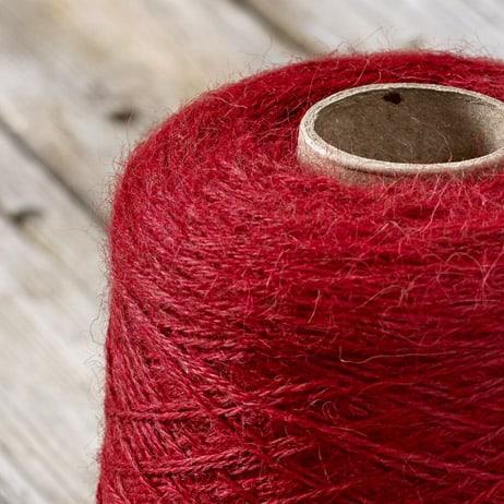 C305 Fire red cone yarn