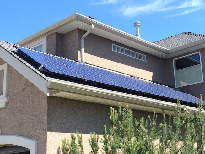 Demo Solar Unit Vernon BC