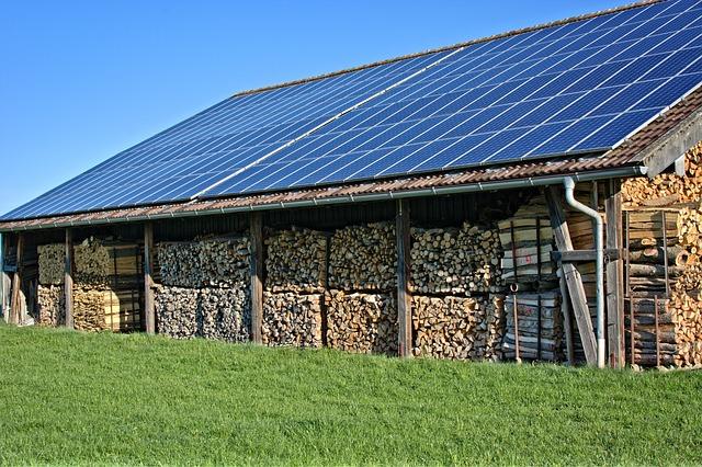 solar woodshed
