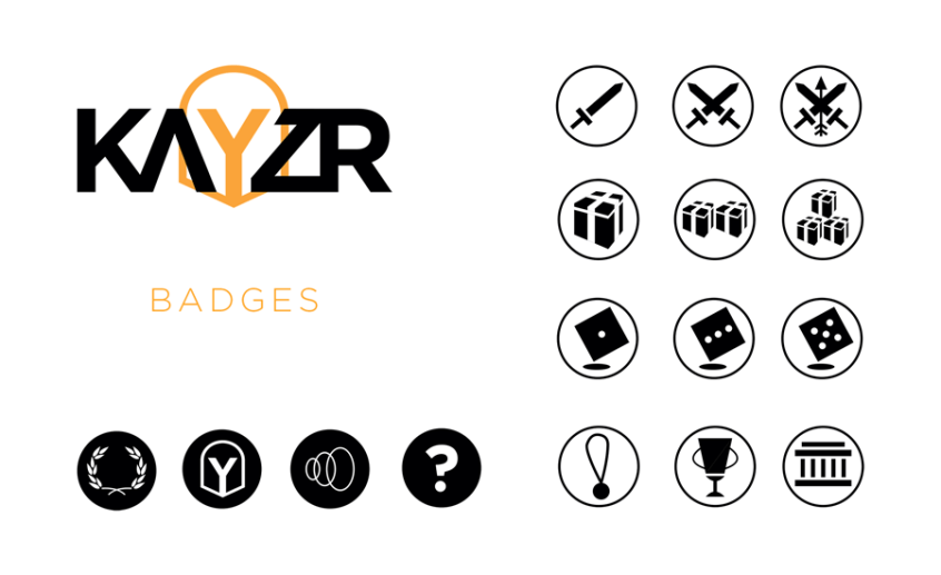 badges Kayzr