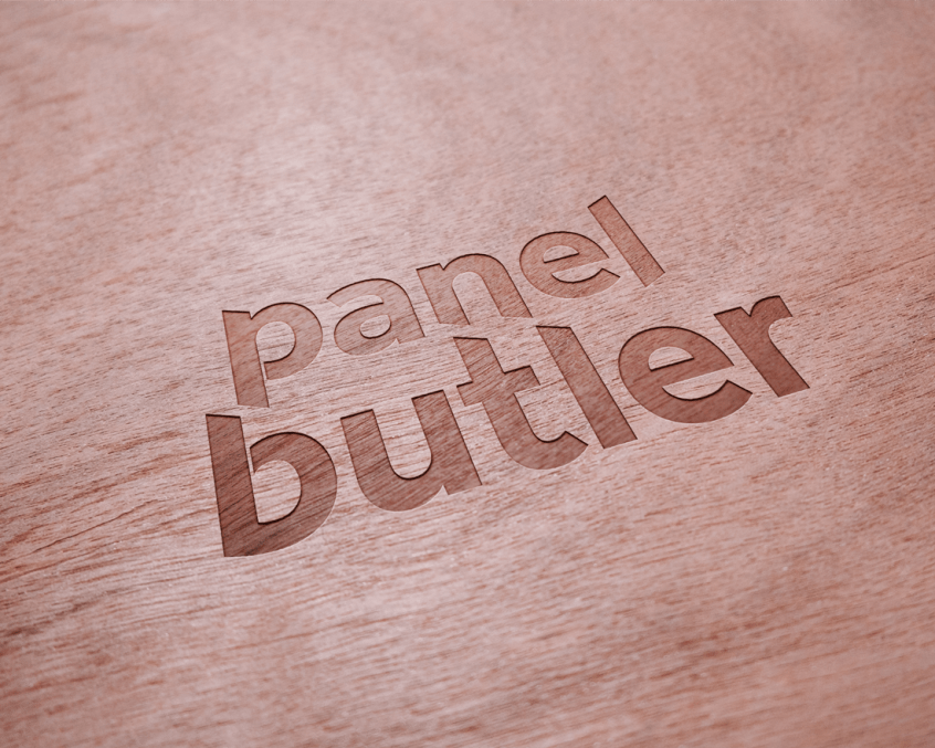 WoodLogo Panel Butler