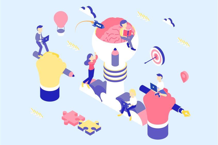 Illustratie-creatief-idee-1024x683 Dynamisch advertentiemateriaal op Facebook (2019)