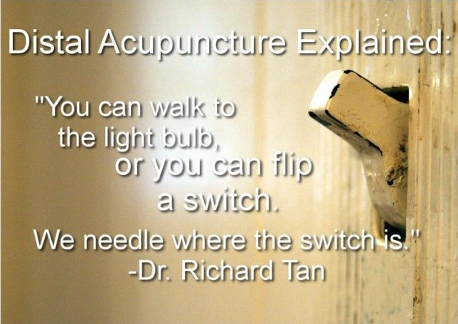 What is Distal Acupuncture?
