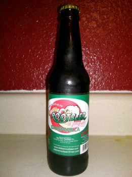 Old Town Rootbeer Company Sarsparilla (Sarsaparilla) Glass Bottle