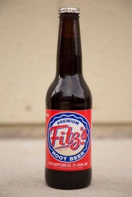 Fitz's Root Beer Glass Bottle