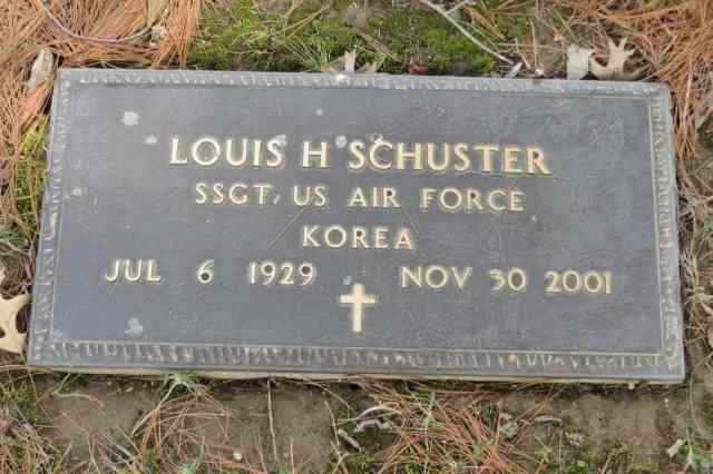 Louis Schuster headstone