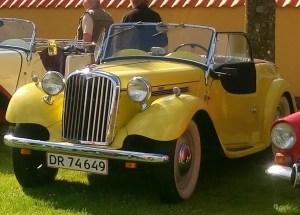 Singer Roadster 1952 - Rootes Danmark