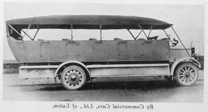 Commer bus 1913 - Rootes Danmark