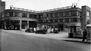 Maidstone første Rootes bygning - Rootes Danmark
