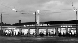 K.W. Bruun salgsbygning