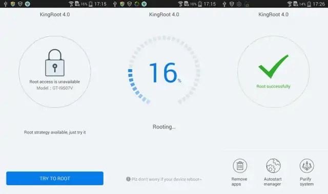 Download KingRoot Application