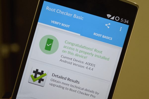 OnePlus One Successfully Rooted