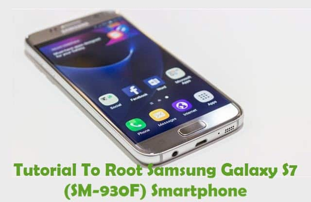 Root Samsung Galaxy S7 Android Smartphone