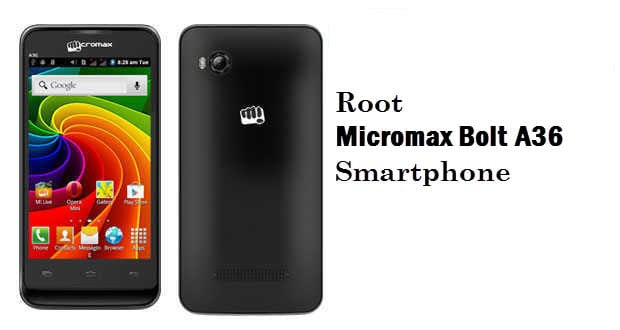 How To Root Micromax Bolt A36 Android Smartphone
